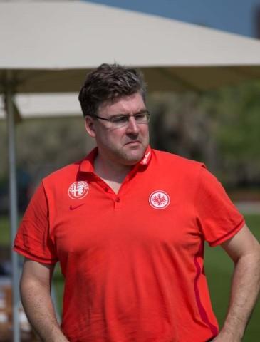 Axel Hellmann, Member of the Board, in Abu Dhabi