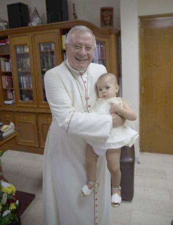 Honorary Member H.E. Bishop Paul Hinder, OMF cap., Vicar Apostolic Photo: ©EFC Bembel Beduinen