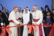 With H H Sheikh Nahyan bin Mubarak