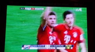 The start of the Dortmund disaster
