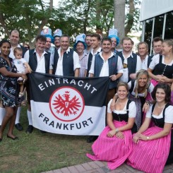 Oktoberfest in 2015 with the Kirchendorfer in the UAE ©EFC Bembel Beduinen