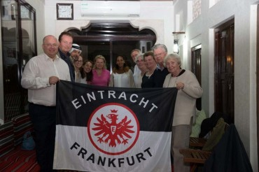 Frankfurter citizens and the Bedu's are binding also through our Eintracht