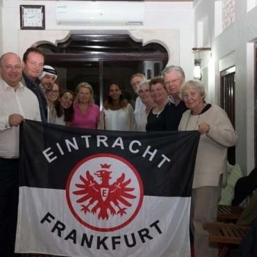 Frankfurter citizens and the Bedus are binding also through our Eintracht ©EFC Bembel Beduinen