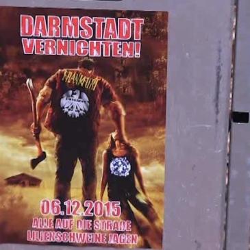 Darmstadt vernichten Photo: ©main.tv
