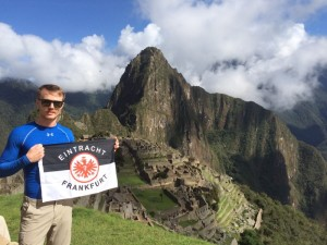 Bedu Marc on the Machu Picchu