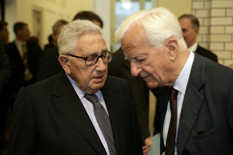 Henry A. Kissinger and Richard von Weizsäcker