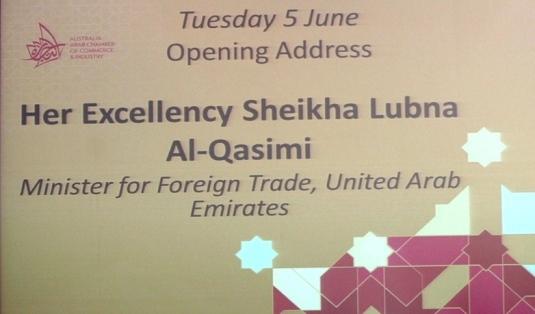 Opening address in Sydney