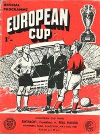 Euro Cup Finale Eintracht Frankfurt - Real Madrid
