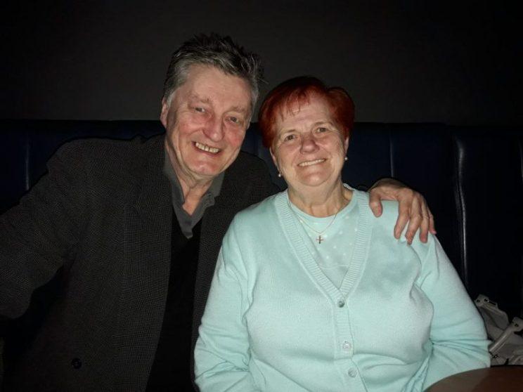 Ehrenmitglied Johnny Klinke mit Beduine Dr. Viktoria