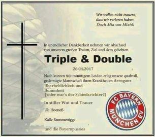 Triple, double ...